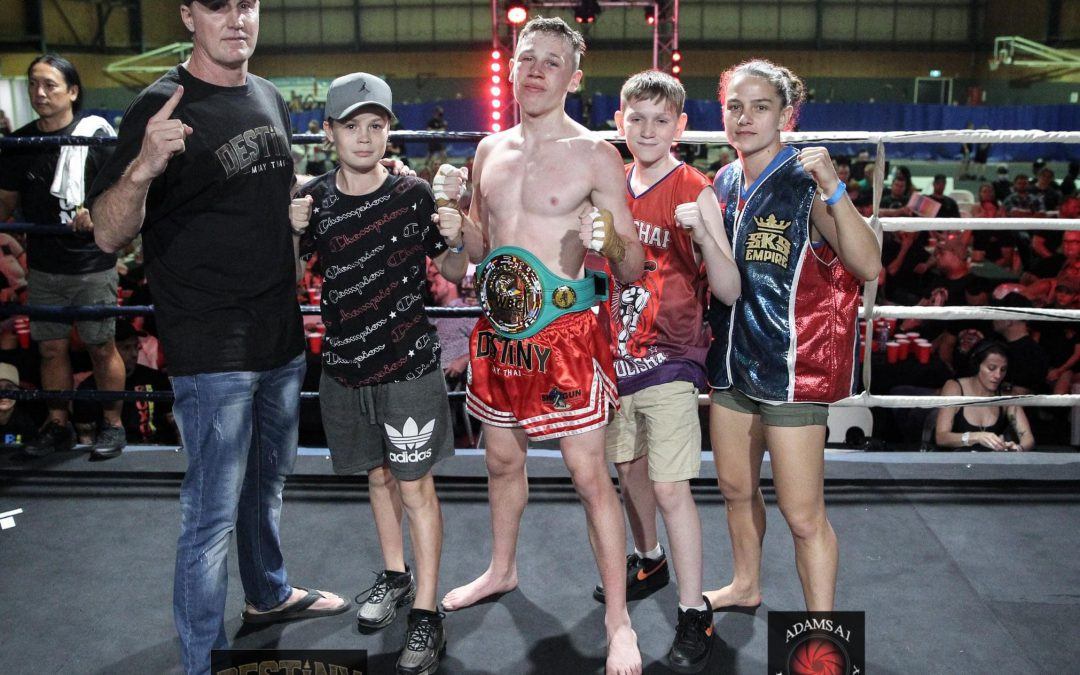 FIVE NEW CHAMPIONS CROWNED IN BRISBANE