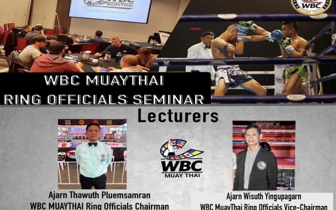 MUAYTHAI EDUCATION CONTINUES ON MAY 29