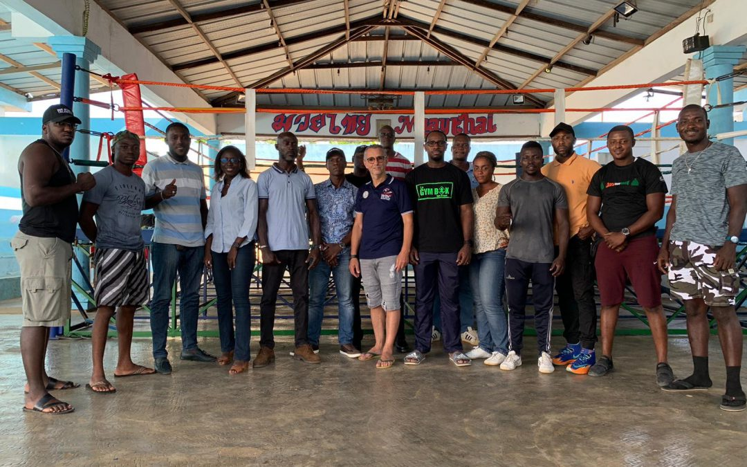 MUAYTHAI EDUCATION FOR RING OFFICIALS IN IVORY COAST