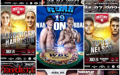 FIGHT SCHEDULE: THE WEEK OF JULY 19-25