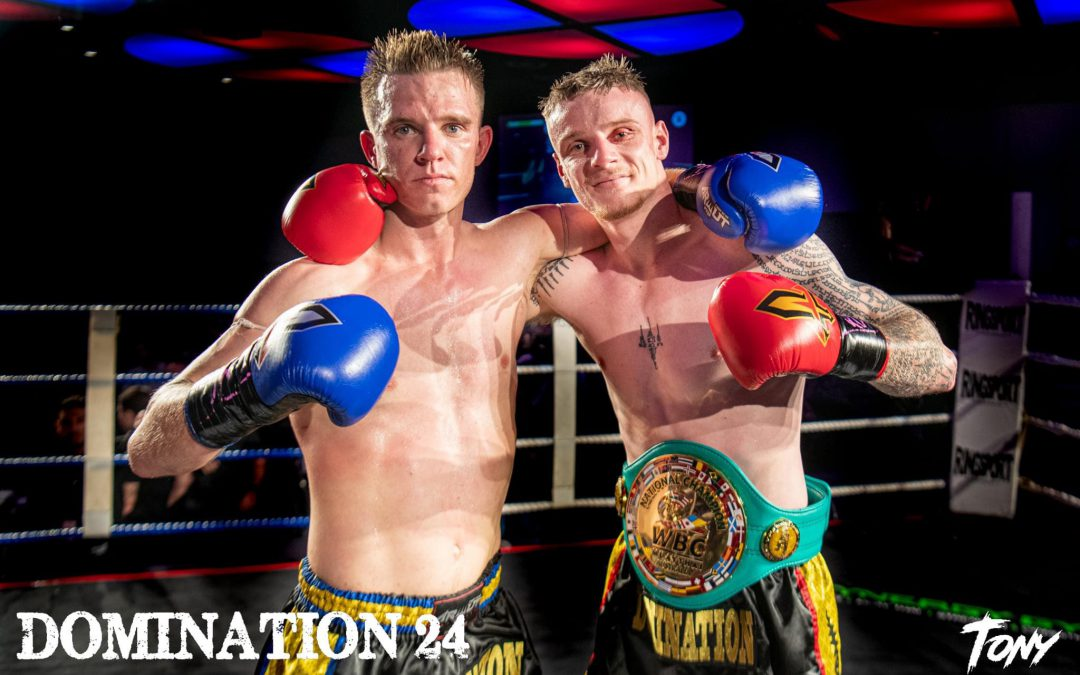 DOMINATION DELIVERED A NIGHT OF SUCCESS FOR MUAYTHAI