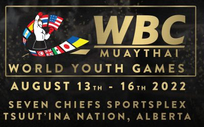 WBC MUAYTHAI YOUTH WORLD GAMES ARE COMING