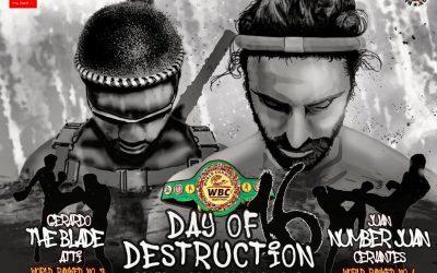 TOP CONTENDERS SET TO CLASH FOR WBC MUAYTHAI CRUISERWEIGHT WORLD GLORY