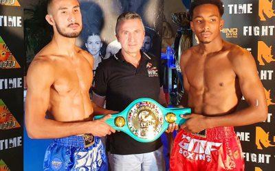 ZURICH AWAITS WBC MUAYTHAI EUROPEAN SHOWDOWN