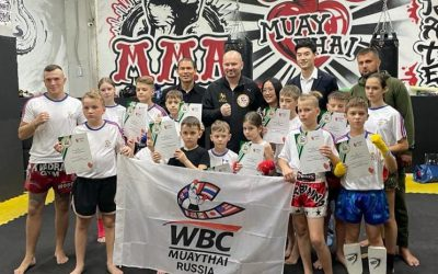 A WONDERFUL GATHERING IN RUSSIA FOR MUAYTHAI ENTHUSIASTS
