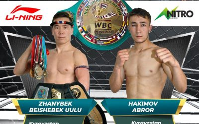A NEW ERA IS COMING FOR MUAYTHAI IN KYRGYZSTAN